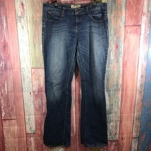 American Rag bootcut mid wash jeans